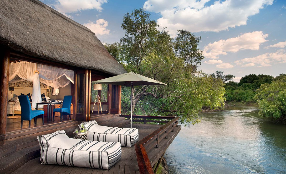 Royal Chundu River Lodge river view guest suite