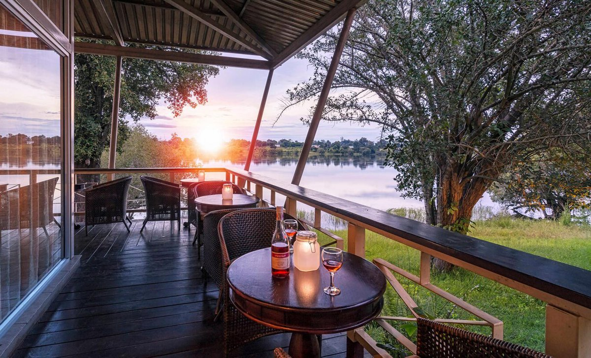 Protea Zambezi River Lodge at Katima Mulilo with river view