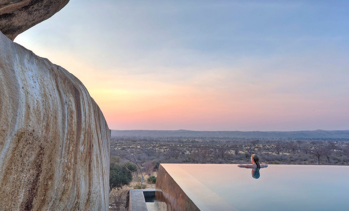 Africa's jaw-dropping infinity pools
