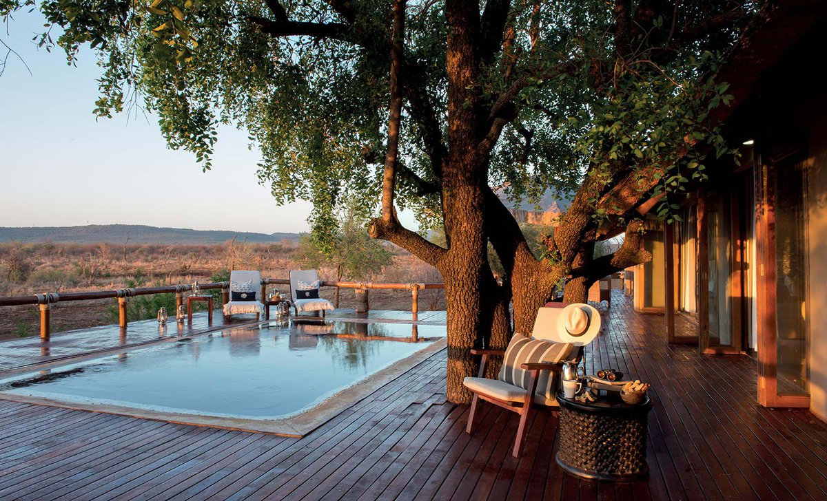 Little Madikwe private plunge pool and deck South Africa