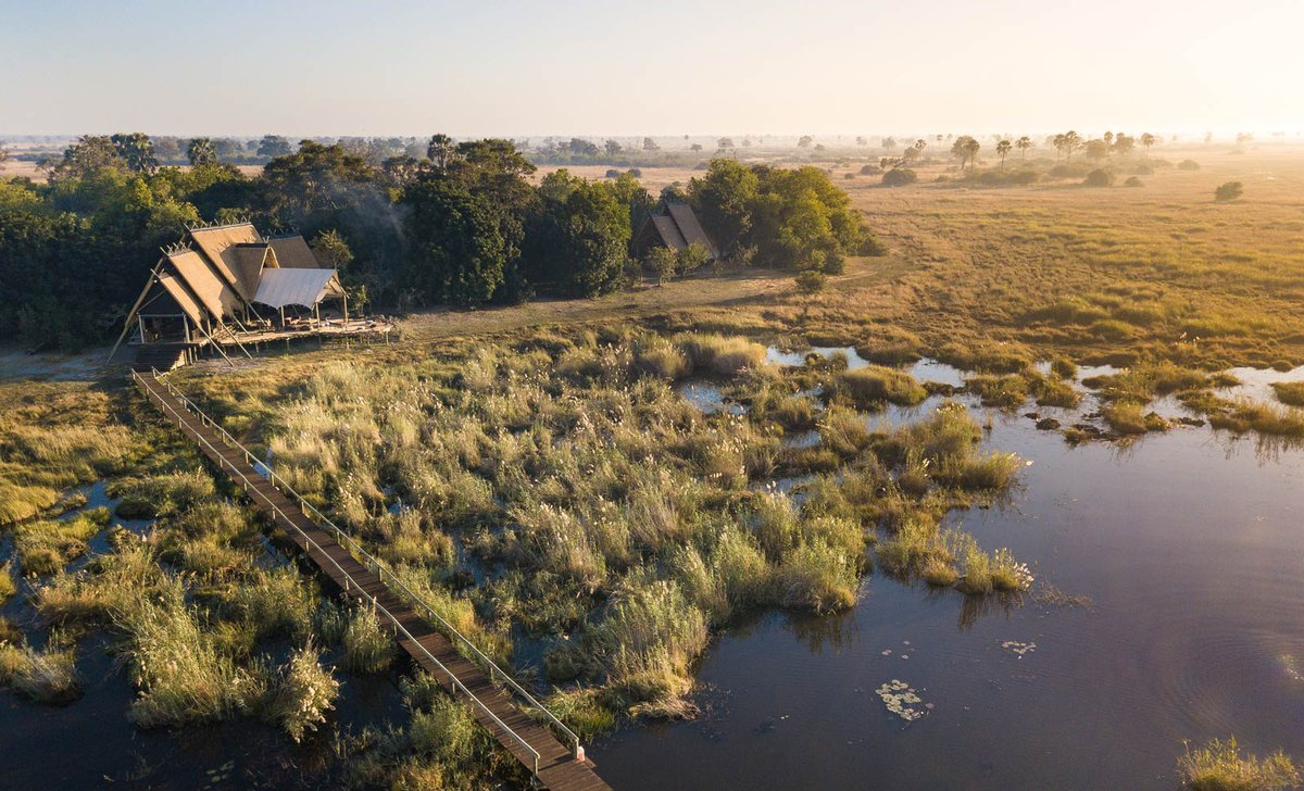 aerial-exterior-view-selinda-camp-great-plains-by-andrew-howard