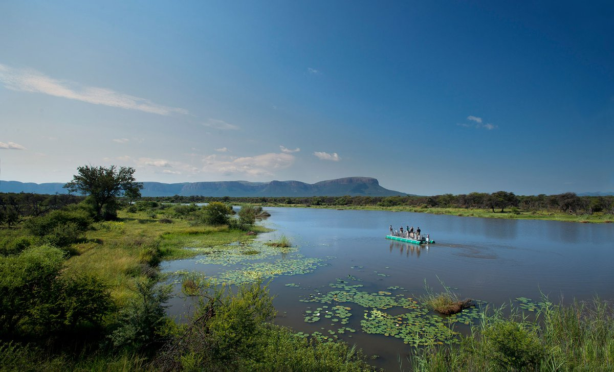 Boat cruise waterberg south africa at marataba