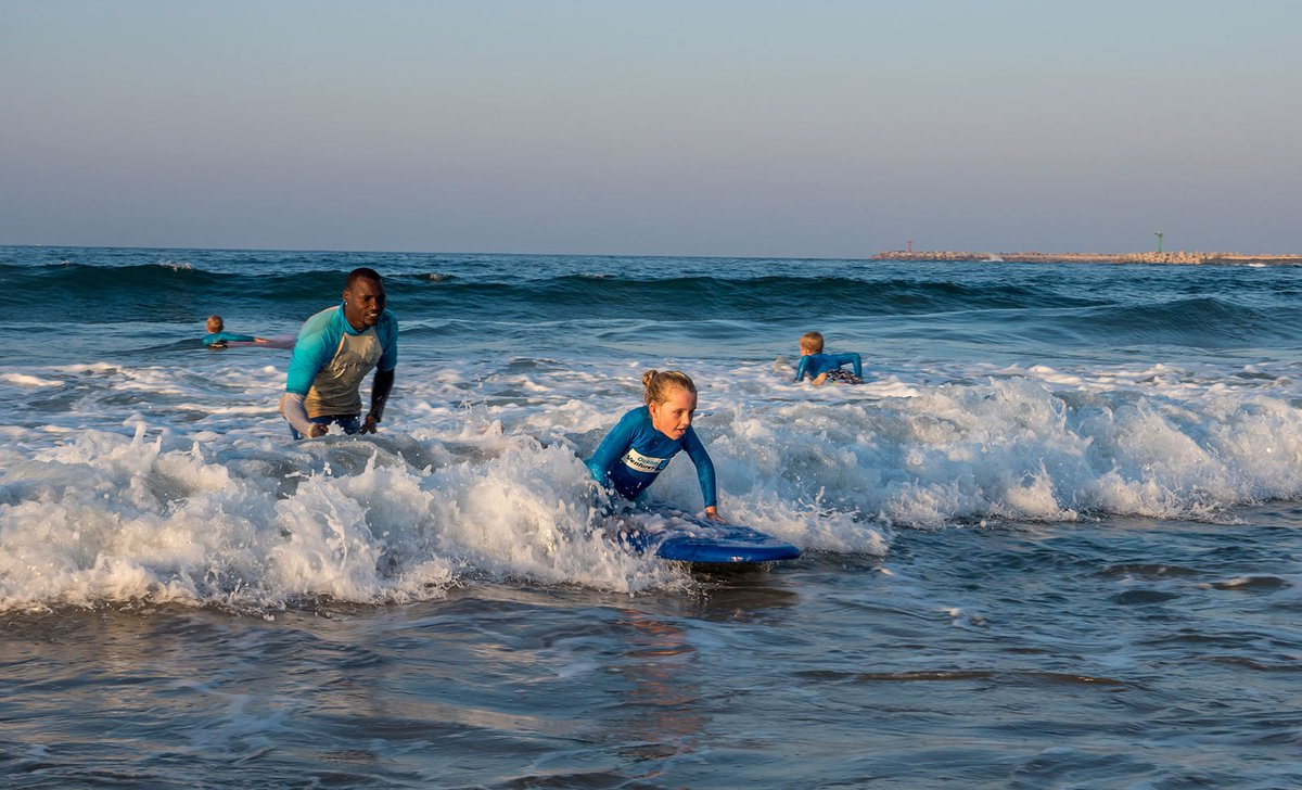 Surf lessons in South Africa