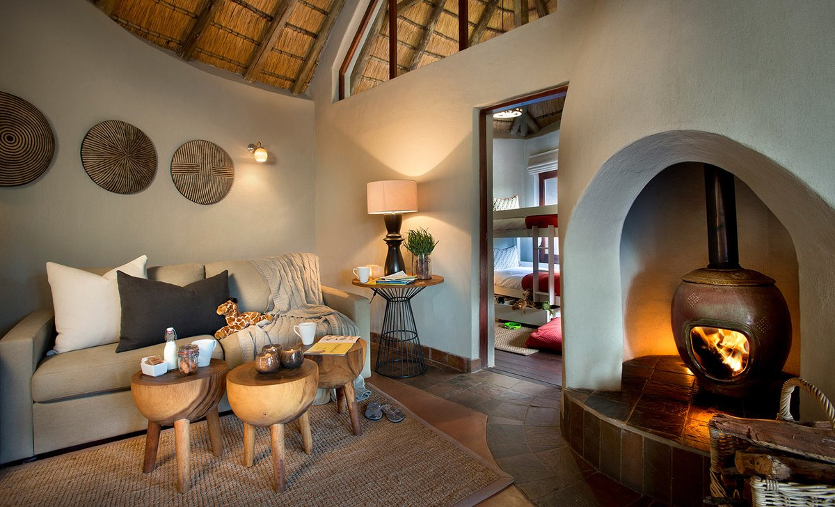 Lelapa Lodge family suite interior