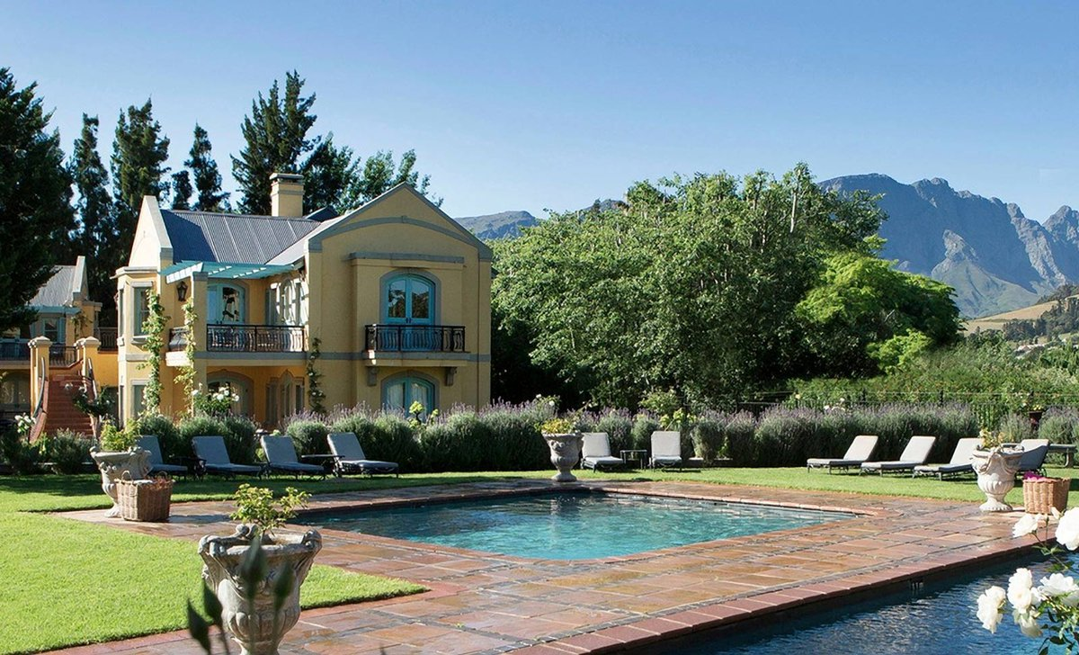 Franschhoek Country House, South Africa.