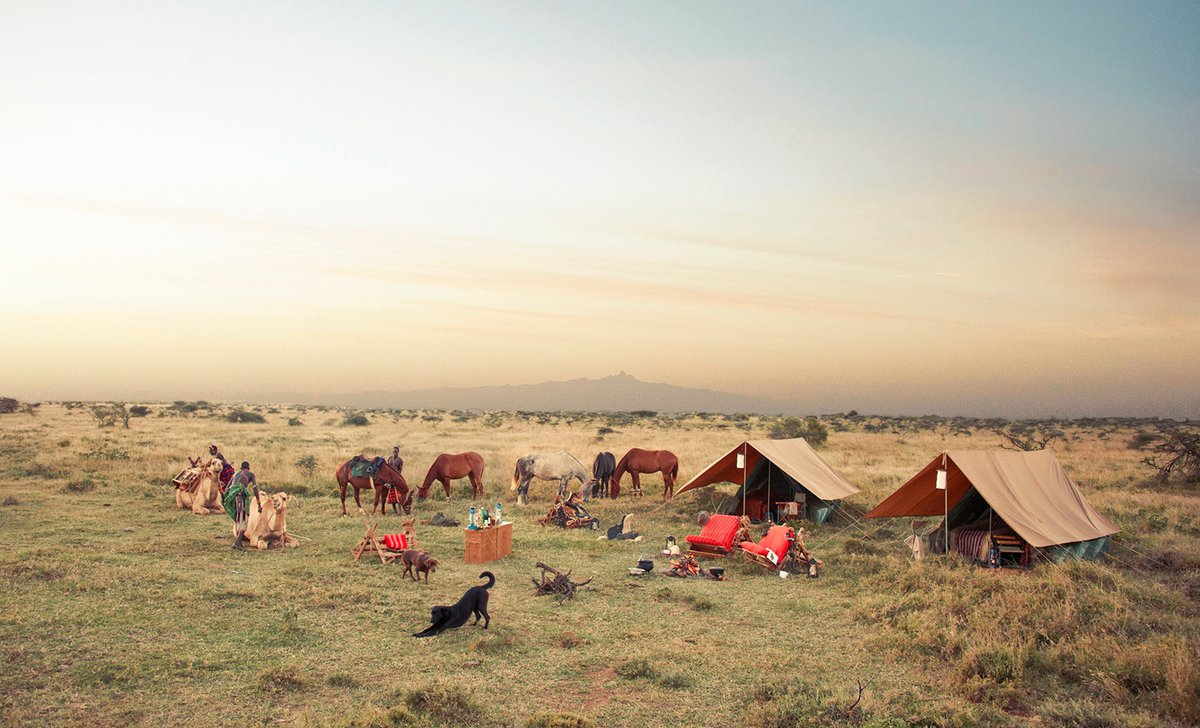 Ol Malo Nomad Horseback safari sleep out wild camping Kenya